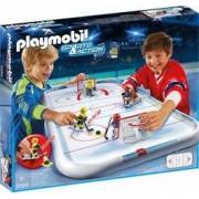 Hochei de masa de jucarie Playmobil - Arena de hochei