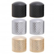 Guitar Parts 4pcs Guitar Bass Dome Tone Knobs for Electric Guitar Volume Control Knobs Stringed Instruments Accessories 54g