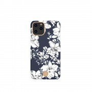 KINGXBAR Flower Series PC Phone Shell with Magnetic Sheet for Apple iPhone 11 Pro Max 6.5 inch - Lily