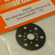 RW 64X90T Xray T2/T3 Offset Supa-lite Spur Gear 90 Tooth 64 DP