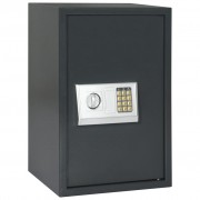 vidaXL digitaalne seif, tumehall, 40 x 35 x 60 cm