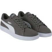 Puma Smash v2 CV Sneakers For Men(Grey)