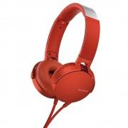 Sony Наушники Sony MDR-XB550AP Red