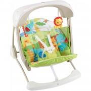 Fisher Price Fisher-price Columpio Hamaca Portable 2 En 1, Para Bebé Recién Nacido Mattel