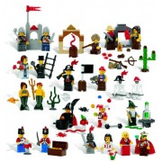 Lego Education Fairytale and Historic Minifigures Set 779349 (227 Pieces 22 Different Figures)