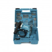 Makita HP1631KX3 Trapano a percussione - 74 Accessori inclusi