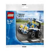Lego Police Atv (30228) 42 Piece Bag Set Exclusive Promo Set