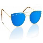 Knotyy Shield Sunglasses(Blue)