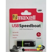 Maxell usb speedboat 2.0 black 4gb