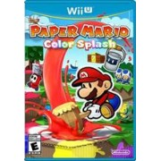 Paper Mario Color Splash Nintendo Wii U