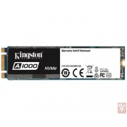 Kingston 480GB A1000, M.2 2280 NVMe, 1500/900MB/s (SA1000M8/480G)