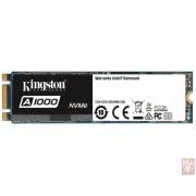 Kingston 240GB A1000, M.2 2280 NVMe, 1500/800MB/s (SA1000M8/240G)