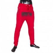 Gorilla Wear Alabama Drop Crotch Joggers - Red - M