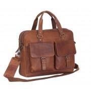 Chesterfield Dylan Businessbag Cognac 17 inch
