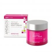 1000 Roses Heavenly Night Cream - Crema de noapte hidratanta ten sensibil sau deshidratat x 50 gr Andalou Naturals Secom