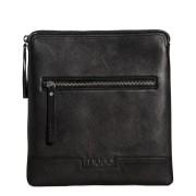 39.95 muud väska Bologna för hörlurar, handgjort läder svart