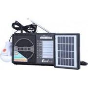 Set - Radio AM/FM/SW1-8 cu Incarcare Solara Fepe FP-1789U-LS Negru + Suport Universal de Birou Pentru Tablete sau Telefoane