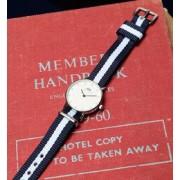DANIEL WELLINGTON / Classy Glasgow シルバー 26mm【ビームス ウィメン/BEAMS WOMEN レディス 腕時計 NAVY/WHITE ルミネ LUMINE】