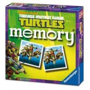 Jocul Memoriei - Testoasele Ninja. Obiectivul jocului este sa aduni cat mai multe perechi de carti.