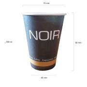 Noir pahare automate carton 180 ml bax 2250 buc