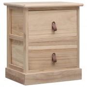 Noptieră, 38 x 28 x 45 cm, lemn de paulownia