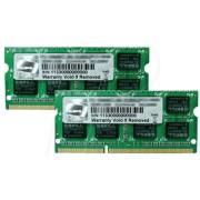 F310666CL9D8GBSQ - 8 GB SO DDR3 1333 CL9 G.Skill 2er Kit