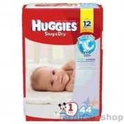 HUGGIES Snug and Dry Diapers, Step 1, Jumbo Pack Part No. 40653 Qty Per Package