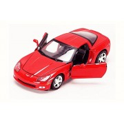 Motor Max 2005 Chevy Corvette C6, Red - 73270AC 1/24 Scale Diecast Model Toy Car