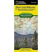 National Geographic Maps Glacier Peak Wilderness [mt. Baker-Snoqualmie and Okanogan-Wenatchee National Forests] (National Geographic Trails Illustrated Map, Band 827)