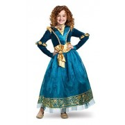 Disguise Merida Deluxe Child Costume, Green, Size/(4-6x)