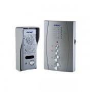 Domácí bezsluchátkový telefon Orno ELUVIO stříbrný