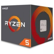 Процесор AMD CPU Desktop Ryzen 5 1600 (3.4/3.6GHz Boost,19MB,65W,AM4), Wraith Spire 95W cooler, YD1600BBAEBOX