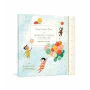 The Wonderful Things You Will Be Growth Chart by Emily Winfield Martin