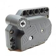 Lego Parts: Pullback Power Racer Motor 7 x 5 x 3 (Dark Bluish Gray)