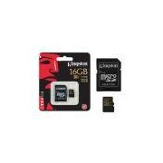 Cartao De Memoria Classe 10 Kingston Sdca10/16gb Micro Sdhc 16gb Com Adaptador Sd Uhs-I