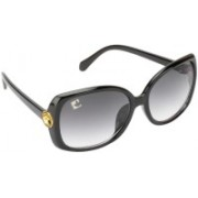 Clark N' Palmer Over-sized Sunglasses(Grey)
