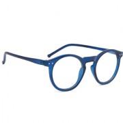 Royal Son Full Rim Round Blue Spectacle Frame For Men and Women (Plastic Optical Eyeglasses Eyewear Frame)