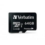 Memorija micro SD 64GB Verbatim Class 10, UHS-I 44084