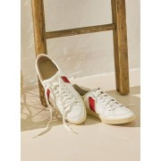 Cyrillus Sneaker weiss/rot-details