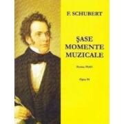 Sase momente muzicale pentru pian - F. Schubert