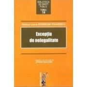Exceptia de nelegalitate - Raluca Laura Dornean Paunescu
