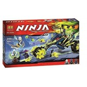 Ninja Chain Cycle Ambush Masters Of Spinjitzu Building Blocks Set Compatible With Lego