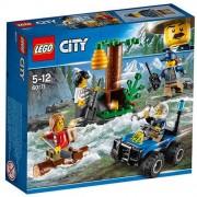 Set de constructie LEGO City Dezertori pe Munte