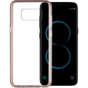 Funda Case Para Samsung S8 Plus Protector Transparente De Acrílico Con Bordes De Plastico TPU - Rosa