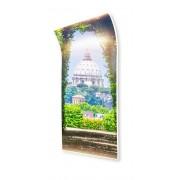 Ívelt fali infra fűtőpanel - Róma (1020x1570x14mm)