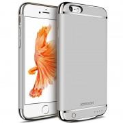 Husa Baterie Ultraslim iPhone 6 Plus/6s Plus, iUni Joyroom 3500mAh, Silver