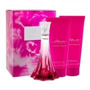 Christian Siriano Silhouette in Bloom darovni set parfemska voda 100 ml + losion za tijelo 200 ml + gel za tuširanje 200 ml za žene