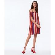 Etam Off-the-shoulder jurk met print - 36 - Oranje - Etam