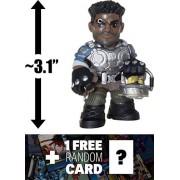 "Delmont ""Del"" Walker: ~3.1"" Funko Mystery Minis x Gears of War Mini Vinyl Figure + 1 FREE Video Games Themed Trading Card Bundle (11356)"