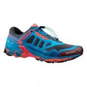 Salewa Ultra Train - scarpe da avvicinamento - donna - Light Blue/Red